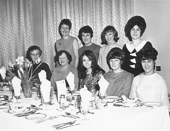 Kirkwall Telephone Exchange Staff Dinner