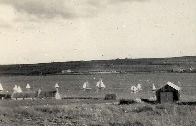 Sailing at Burray