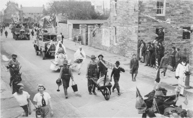 Jubilee parade, 1935