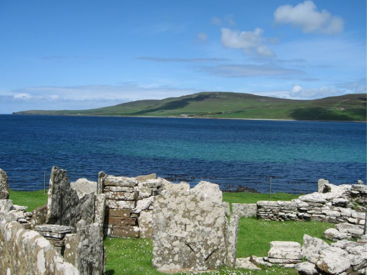Looking Out From The Broch Of Gurness_June07