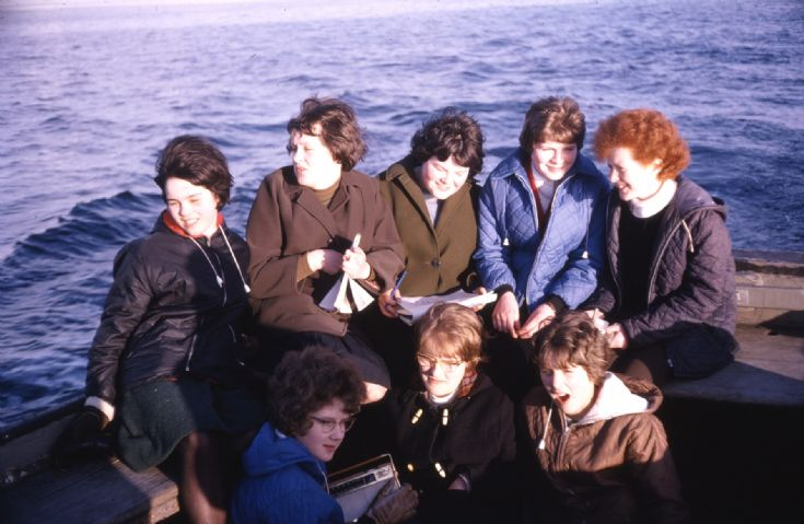 Heading Home on board m.v. 'Noup Head' - 1966
