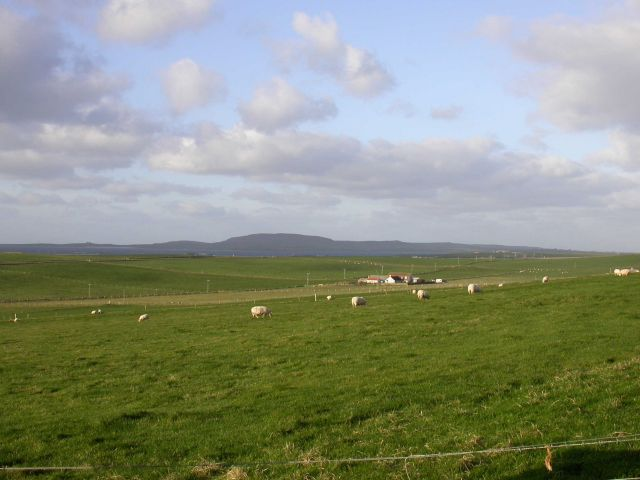 November 2004, Looking NW from Rapness, Westray