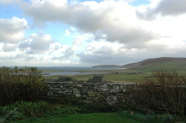 November 2004, looking east from NW Rousay