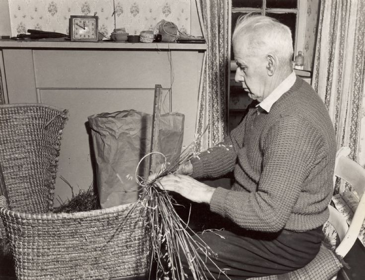 Straw Back Chair Maker