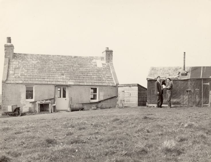 Unidentified House & People