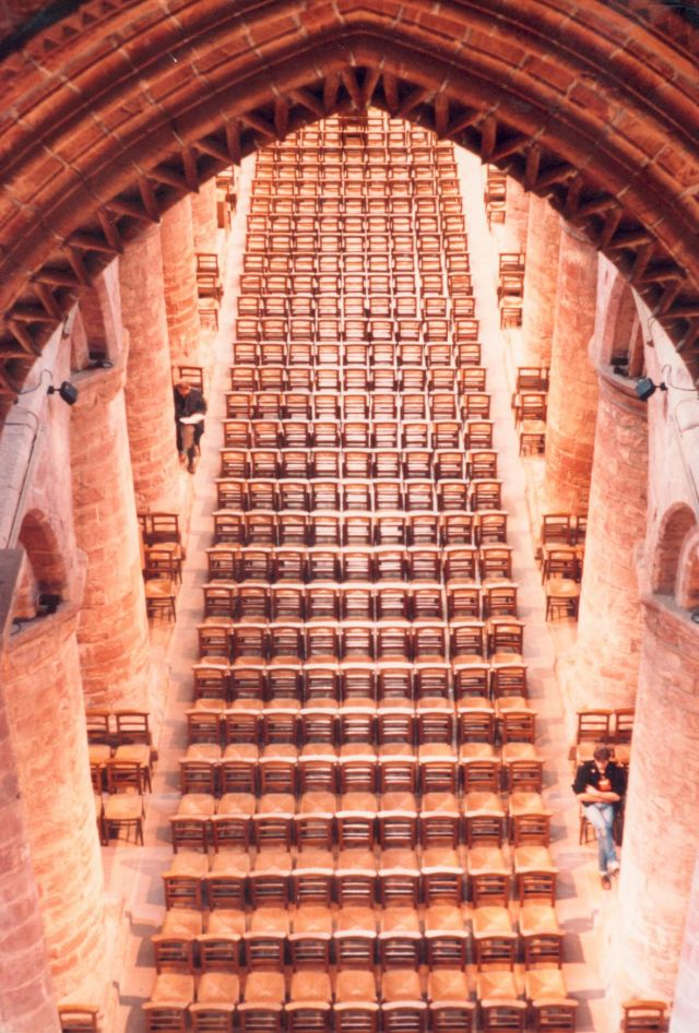 St Magnus Cathedral Chairs
