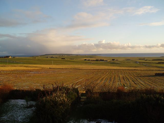 Nov 2004, looking towards Copinsay from Deerness