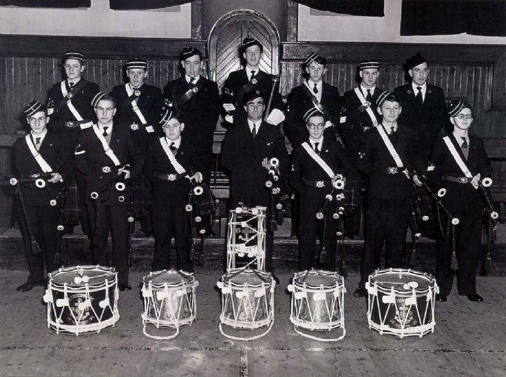 1st Kirkwall Coy. Boys Brigade Pipe Band