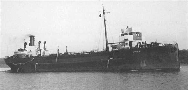 The tanker Juniata