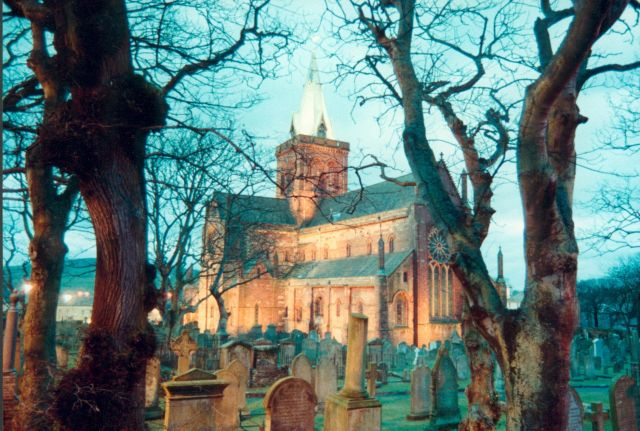 St Magnus Cathedral, Jan 1989