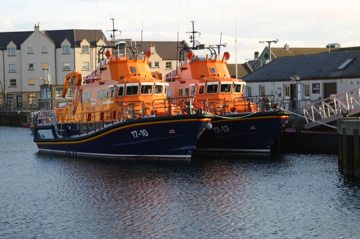 Lifeboats in Kirkwall Basin