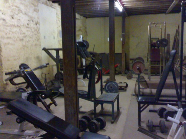Papdale gym downstairs
