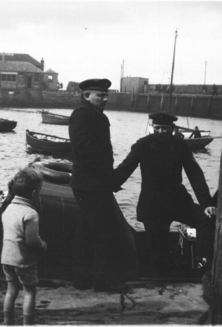 Sailors at Corn slip