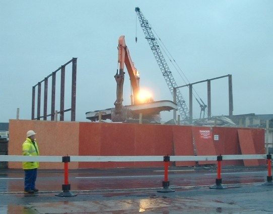 Demolition of Phoenix, 12th December