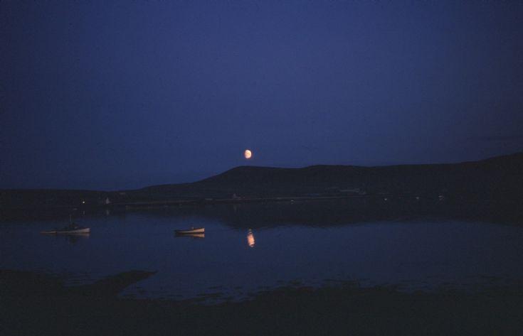 Moon-lit 'Pierowall Bay'