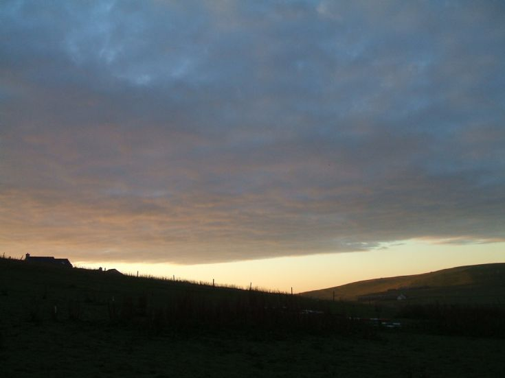 Sunrise on 1st October