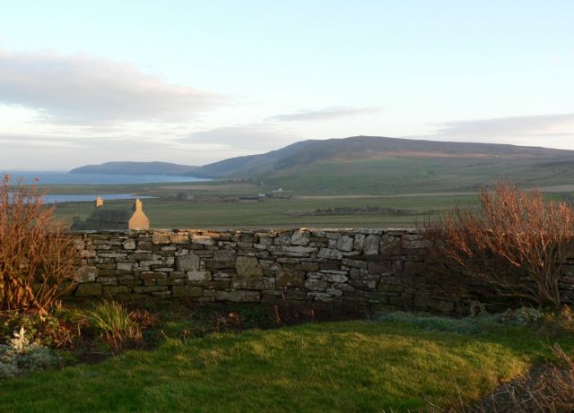 December 2004, looking east from NW Rousay