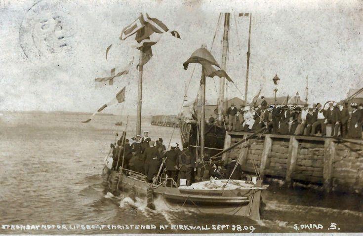 Stronsay Motor Lifeboat 1909