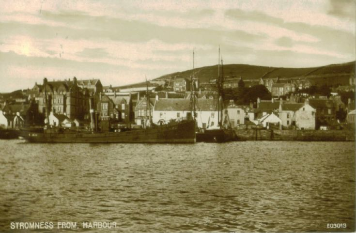 Stromness From Harbour