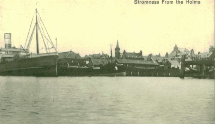 Stromness from the Holms