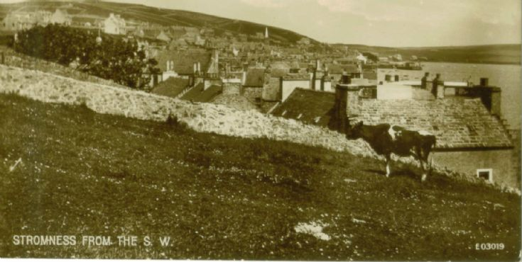 Stromness from the South West