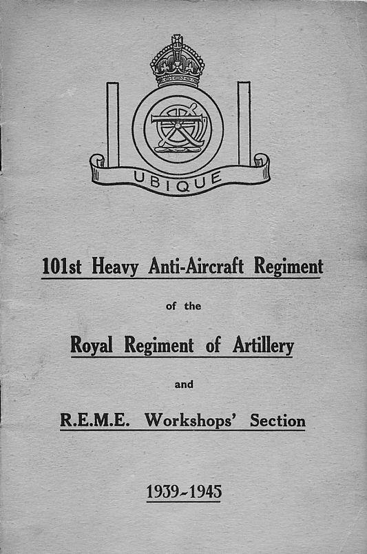 101st H.A.A. Regiment Royal Artillery