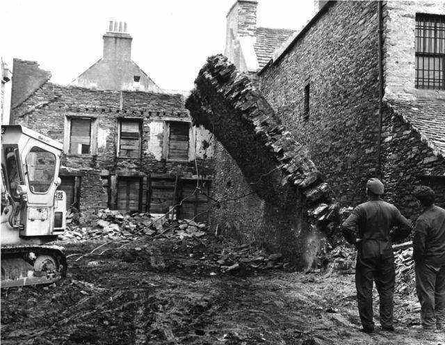 Demolition of Albert Kinema