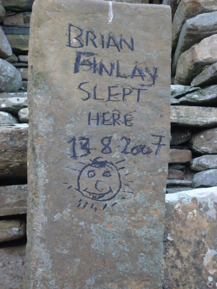 Skara Brae Graffiti