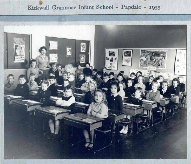 Kirkwall Grammar Infant School - Papdale - 1955