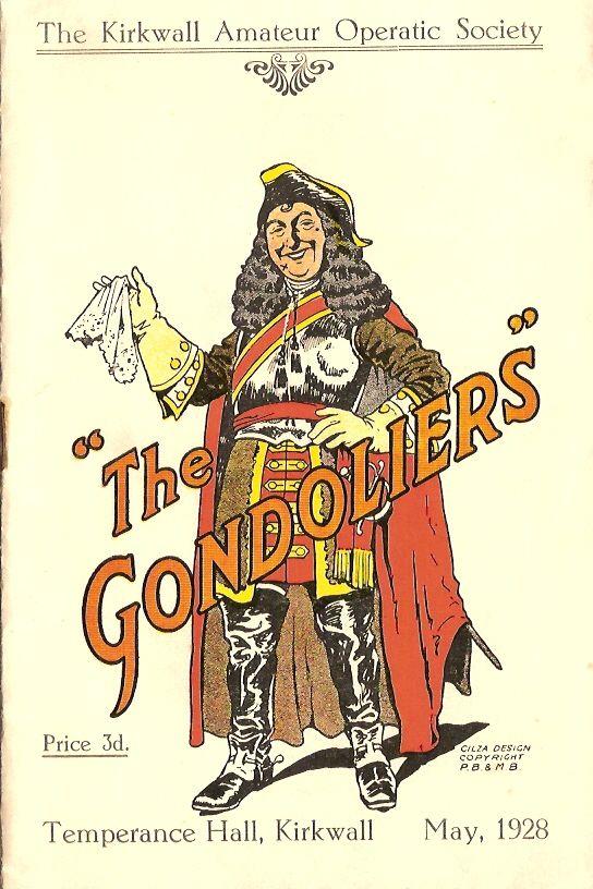 Gondoliers 1