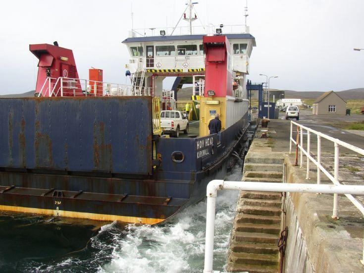 Present  Hoy Head Ferry