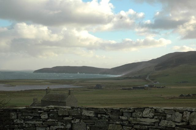 January 2005, looking east from NW Rousay
