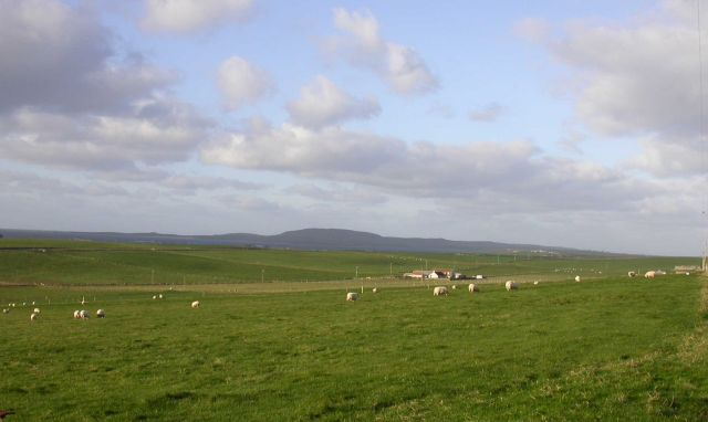 December 2004, Looking NW from Rapness, Westray