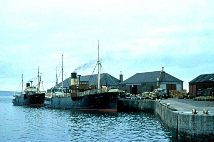 Earl Sigurd & Earl Thorfinn at Kirkwall Pier