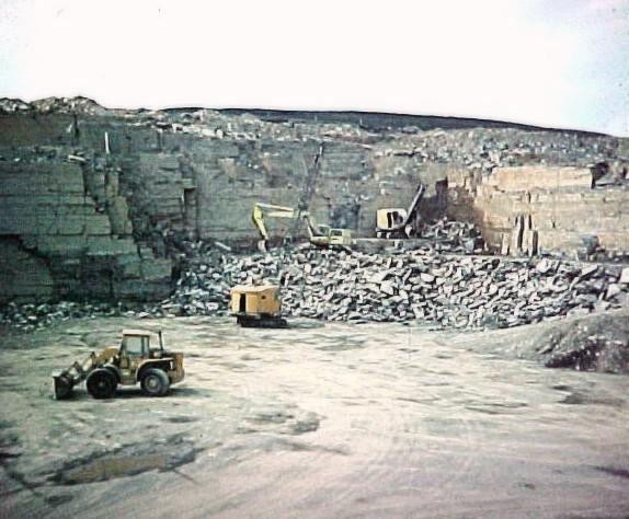 Heddle quarry, dinner time!