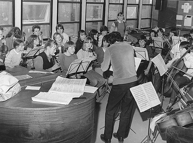 School Orchestra at Kirkwall Grammar