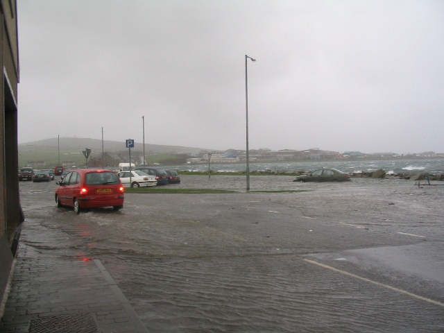 Car Park at Shapinsay slip