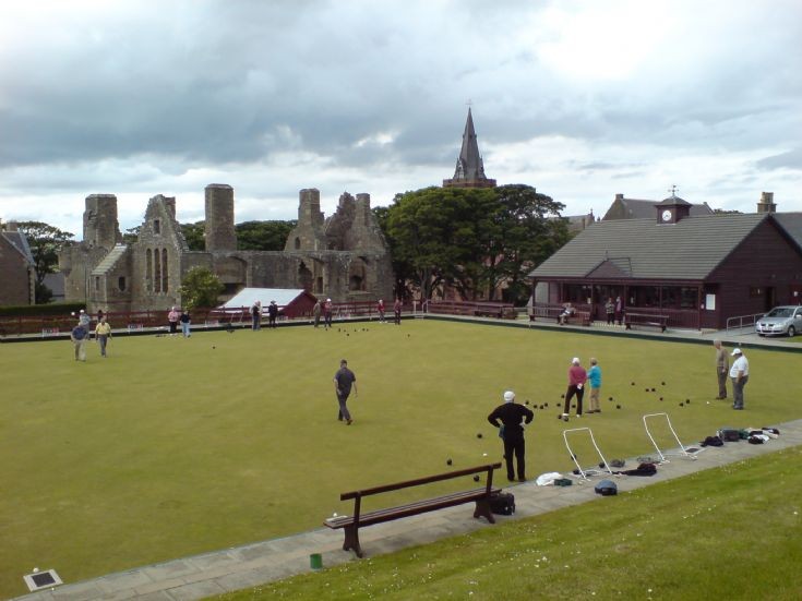 Bowling in Kirkwall