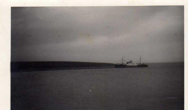 Lighthouse tender, May, ashore on Rysa Little