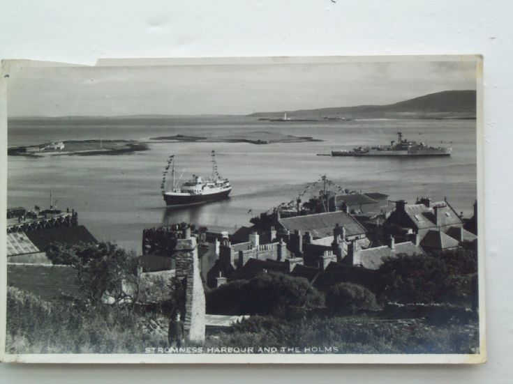 Stromness Harbour and the Holms