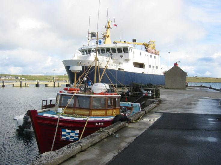 Earl Thorfinn at Shapinsay Pier