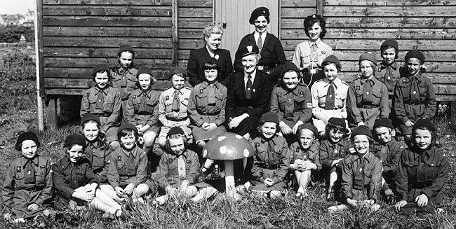 Kirkwall Brownies c1957