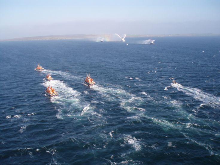 Lifeboat flotilla