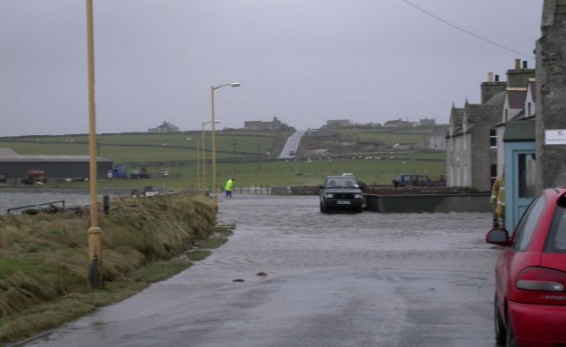 Westray after January's storm