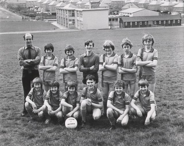 Papdale Primary football team, 1977