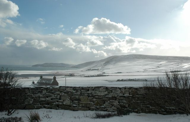 March 2005, looking east from NW Rousay