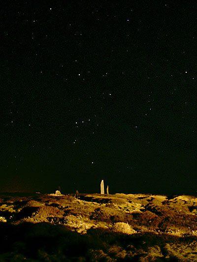 Orion over Brogar/Brodgar