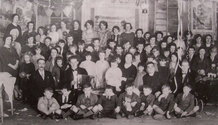 Sunday School Party, Rendall, 1929
