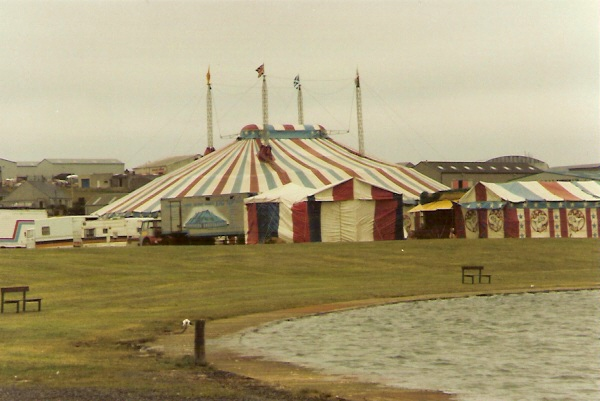 Circus at The Peedie Sea