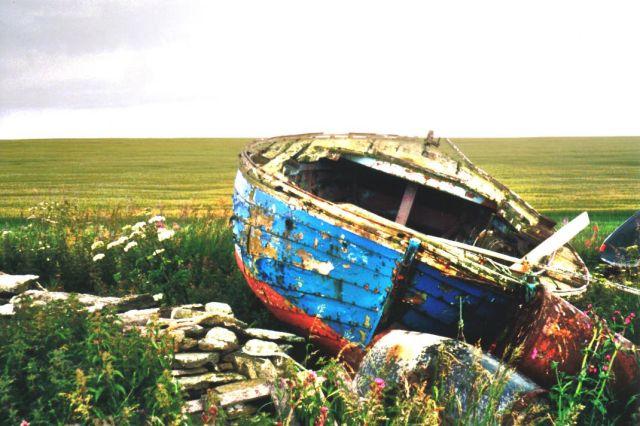 Westray boat